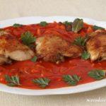 Udka kurczaka w pomidorach