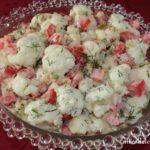 Sałatka z kalafiora i pomidorów