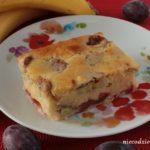 Ciasto śliwkowo-bananowe