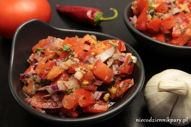 Salsa pomidorowa z miętą