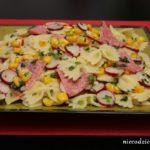 Wiosenna sałatka makaronowa