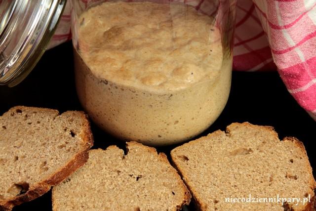 Zakwas żytni na chleb