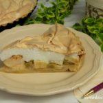 Tarta jabłkowo-rabarbarowa