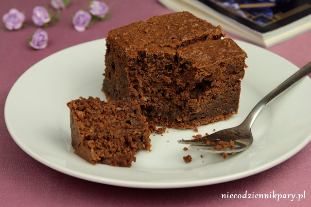 Czekoladowe ciasto z kaszą gryczaną