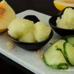 Sorbet melonowo-ogórkowy