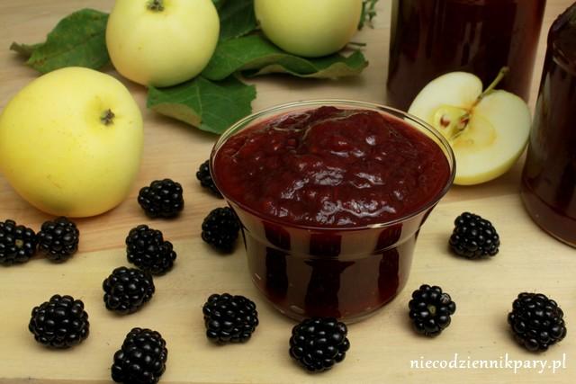 dżem jabłkowo-jeżynowy