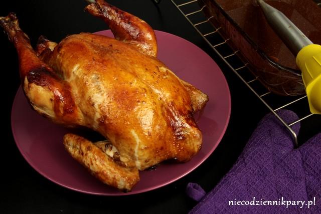 pieczony kurczak teriyaki