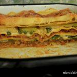 Lasagne z cukinią i fasolką szparagową