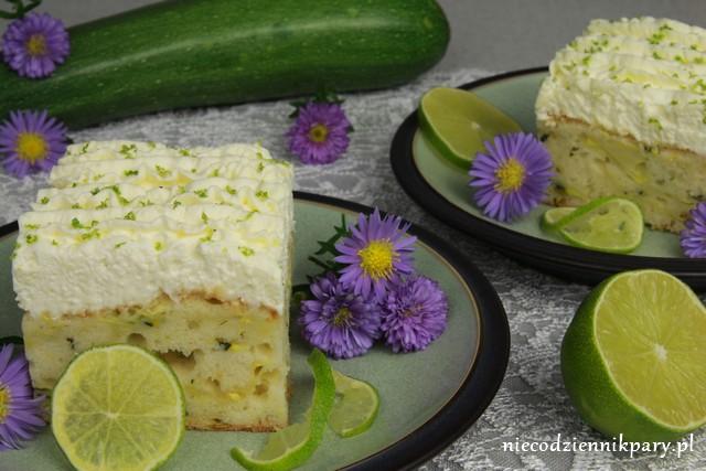 ciasto cukiniowe z limonka