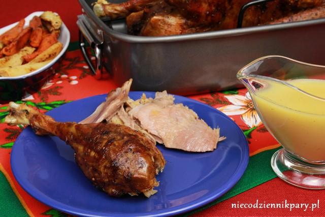 świąteczna gęś wg Jamiego Olivera