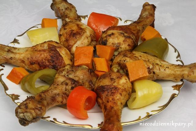 Pikantne podudzia kurczaka