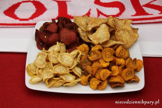 chipsy z warzyw korzeniowych