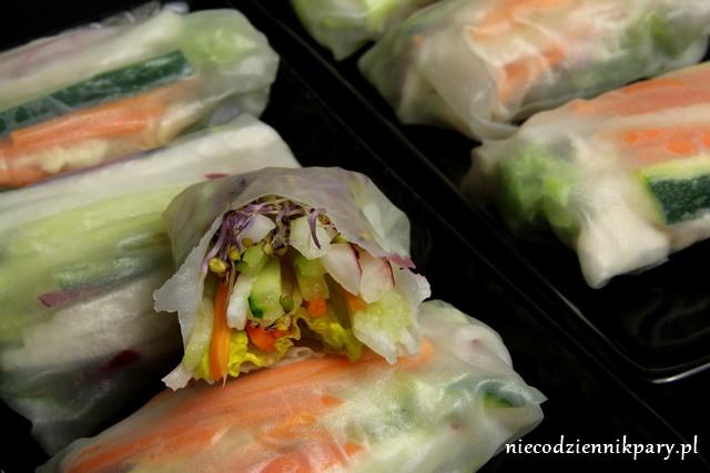 Spring rolls z warzywami