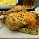 Kurczak pieczony z piwem
