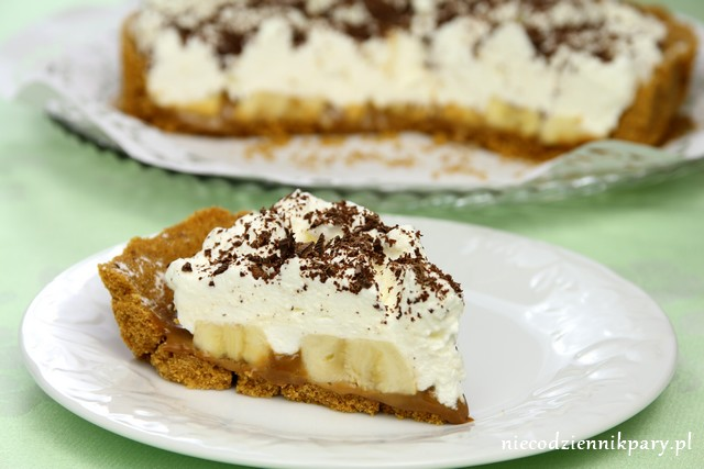 Ciasto z bananami – banoffee