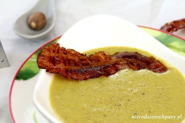 Zupa krem z zielonych szparagów