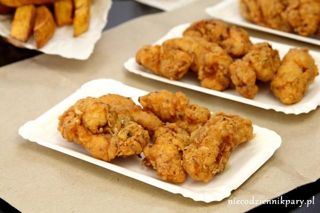 Pikantne nuggetsy z kurczaka