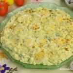 Sałatka jajeczna z przepiórczymi jajkami
