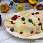 Ciasto na naleśniki z ubitymi białkami