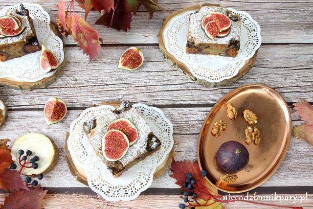 Ciasto marchewkowe z figami